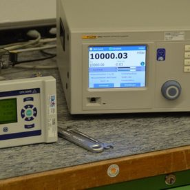 Pressure calibrations mcs Laboratory